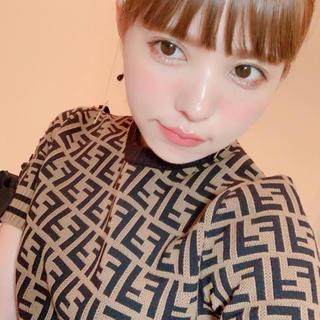 フェンディ(FENDI)の新品タグ付き♡マルチカラーファブリックドレス(ひざ丈ワンピース)