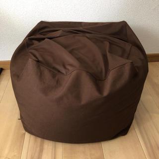 ムジルシリョウヒン(MUJI (無印良品))の無印良品 体にフィットするソファ 小(ビーズソファ/クッションソファ)