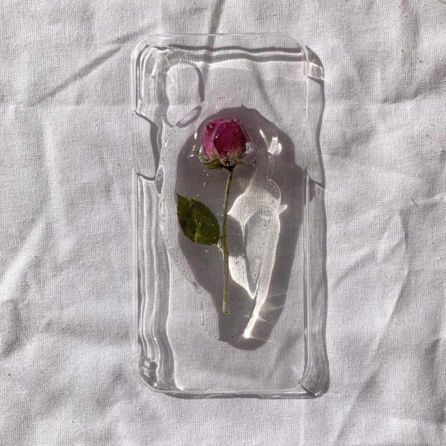 iPhone case🥀iPhoneX.Xs ハンドメイドのスマホケース/アクセサリー(スマホケース)の商品写真