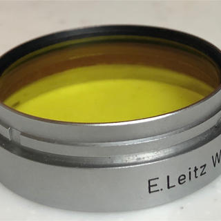 ライカ(LEICA)のLeica  summarit 5cm f1.5 イエローフィルター 美品(レンズ(単焦点))