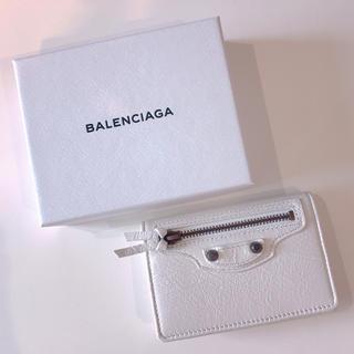 バレンシアガ(Balenciaga)のBALENCIAGA バレンシアガ ClassicMini フラップカードケース(名刺入れ/定期入れ)