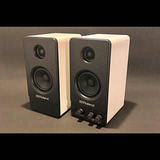 ローランド(Roland)のまめしば様専用 Roland MA22 コンパクト モニター スピーカー(スピーカー)