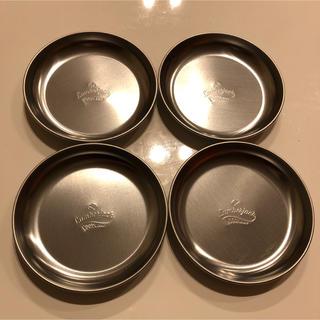 【新品 未使用】ステンレス プレート 皿 ×4枚(食器)