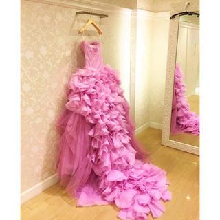 ヴェラウォン(Vera Wang)の期間限定お値下げ★ ヴェラウォン  ピンクヘイリー US2(ウェディングドレス)
