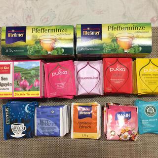 【バラ売り不可】海外 インポート ハーブティ 11種 186個セット 温活妊活 (茶)