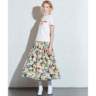 590f0c9eba16b イエナ(IENA)の新品タグ付きTRUNO by NOISE MAKER ボタニカル花柄スカート