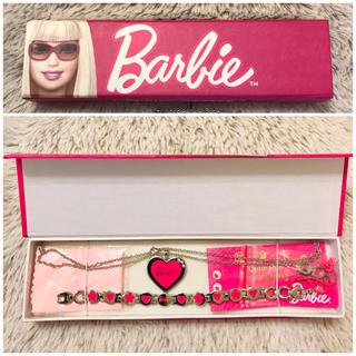 バービー(Barbie)のアクセサリー バービー ネックレス ブレスレッド セット (ブレスレット/バングル)