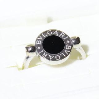 ブルガリ(BVLGARI)のブルガリ フリップ リング オニキス k18 リバーシブル(リング(指輪))
