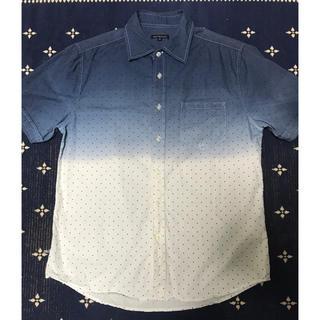 ユニクロ(UNIQLO)の値下げ★グラデーション×ドット柄 半袖シャツ(シャツ)