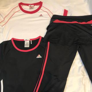 アディダス(adidas)のadidas Tシャツ2枚 パンツセット(その他)
