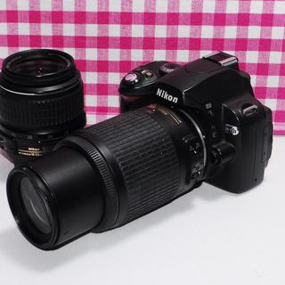 ニコン(Nikon)の❤春に大活躍のWレンズセット❤初心者様向け◆Nikon D40x(デジタル一眼)