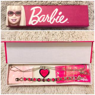 バービー(Barbie)のアクセサリー バービー ネックレス ブレスレッド セット(ネックレス)