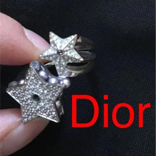 クリスチャンディオール(Christian Dior)のdior 星 リング スターリング(リング(指輪))