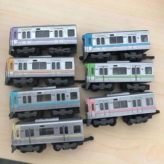 バンダイ(BANDAI)のBトレイン 京王1000系 井の頭線 5両編成×7色(鉄道模型)