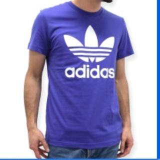アディダス(adidas)のアディダス Tシャツ メンズ レディース パープル(Tシャツ(半袖/袖なし))