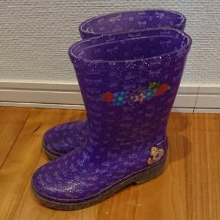 ディズニー(Disney)の16㎝ ラプンツェル長靴とアンパンマンTシャツ(長靴/レインシューズ)
