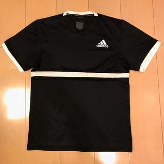 アディダス(adidas)のアディダスadidas テニスウェア MENS COURT Tシャツ (Jr)(ウェア)
