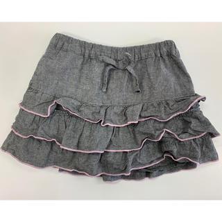 0262351808630 ニッセン(ニッセン)のキュロットスカート 120 女の子(スカート)
