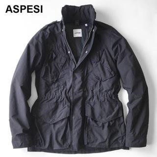 アスペジ(ASPESI)のASPESI DESAFINANO MAN ブルゾンThermoreフルライナー(ミリタリージャケット)