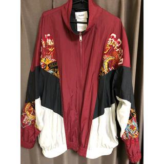 ファセッタズム(FACETASM)のDoublet 刺繍トラックジャケット(ナイロンジャケット)