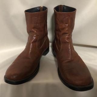 シェラック(SHELLAC)のSHELLAC シェラック ラッカーニジップレザーブーツ 41 26.0(ブーツ)