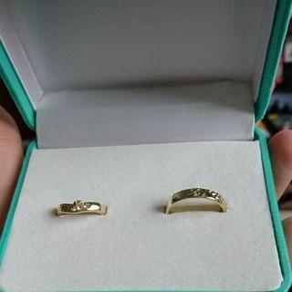 ディズニー(Disney)のペアリング ゴールド(リング(指輪))
