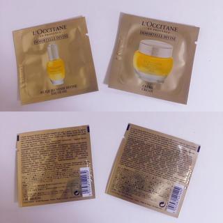 ロクシタン(L'OCCITANE)のL'OCCITANE  イモーテル ディヴァインインテンシヴオイルクリームセット(ブースター / 導入液)