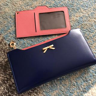 シマムラ(しまむら)の財布 ピンクネイビー(財布)