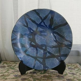 太陽に向かって♪様専用【七宝焼】菓子皿(漆芸)