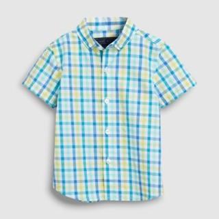 ネクスト(NEXT)の新品!ネクスト チェックシャツ◇ブルー(シャツ/カットソー)