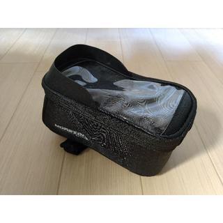 MOREZONE 自転車フレームバッグ 5.5インチスマホホルダー(バッグ)