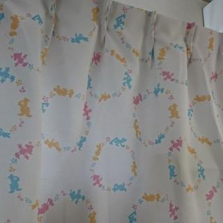 ディズニー(Disney)のディズニー 遮光カーテン100×90センチ 2枚(カーテン)