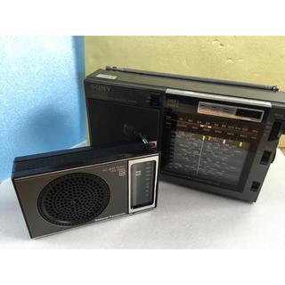 ソニー(SONY)のソニーICF-EX5  ナショナルR-143ラジオ2台(ラジオ)