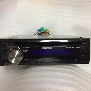ケンウッド(KENWOOD)のKENWOOD  ケンウッド U383 CDレシーバー AUX USB(カーオーディオ)