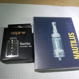 アスパイア(aspire)のaspire  Nautilus miniとカスタマイズ用メッシュチューブ(タバコグッズ)