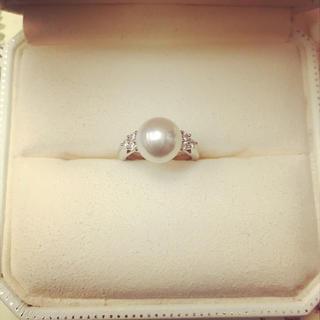 ミキモト(MIKIMOTO)のミキモト 真珠 指輪(リング(指輪))