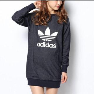 アディダス(adidas)の◆最終価格!◆アディダス♡adidas♡ワンピース♡デニム風♡Lサイズ(ミニワンピース)