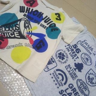 サンカンシオン(3can4on)の半袖 Tシャツ 2枚セット 110(Tシャツ/カットソー)