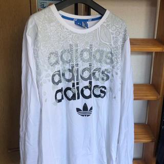 アディダス(adidas)の未使用!アディダス オリジナルス ロング tシャツ!(Tシャツ(長袖/七分))