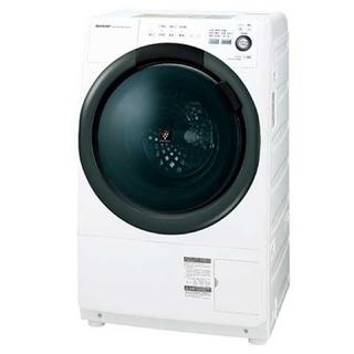 シャープ(SHARP)の2018年 SHARP ドラム式洗濯乾燥機 ES-S7B【6年保証】(洗濯機)