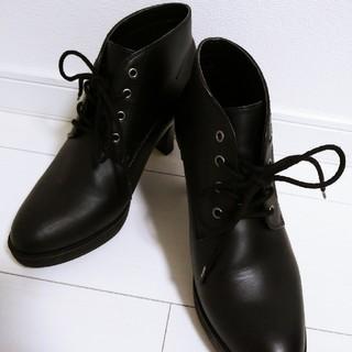 ユニクロ(UNIQLO)のUNIQLO ショートブーツ 24cm(ブーツ)