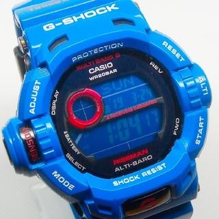 ジーショック(G-SHOCK)の希少カラー!RISEMAN GW-9200BLJ-2JF G-SHOCK(腕時計(デジタル))