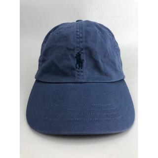 ラルフローレン(Ralph Lauren)のポロ ラルフローレン キャップ メンズ ブルー USED(キャップ)