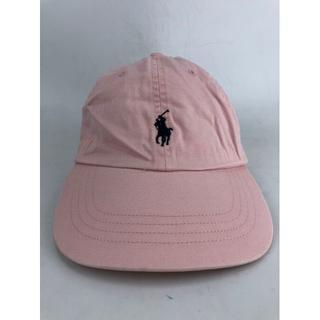 ラルフローレン(Ralph Lauren)のポロ ラルフローレン キャップ メンズ ピンク USED(キャップ)