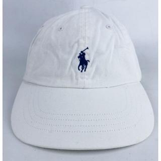 ラルフローレン(Ralph Lauren)のポロ ラルフローレン キャップ メンズ ホワイト USED(キャップ)