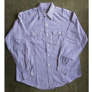 シュガーケーン(Sugar Cane)のSUGAR CANE ストライプ ワークシャツ L(シャツ)