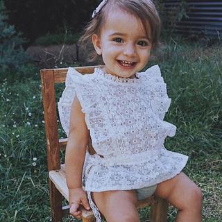 キャラメルベビー&チャイルド(Caramel baby&child )の本日限定価格!Ricebugkids  Fairy Dust Lace Vest(タンクトップ/キャミソール)