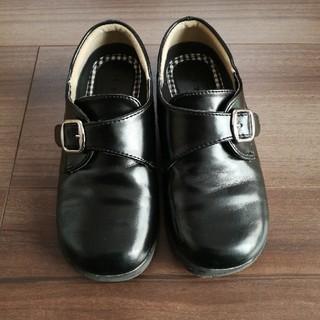 b08b594a6b412 イオン(AEON)のTOPVALU 革靴 17.5〜18cm 黒(フォーマルシューズ)