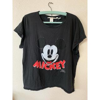 エイチアンドエム(H&M)のTシャツ ミッキー (Tシャツ(半袖/袖なし))