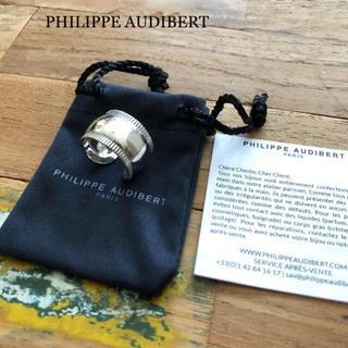 フィリップオーディベール(Philippe Audibert)の極美品⭐️PHILIPPE AUDIBERT/フィリップ オーディベール リング(リング(指輪))